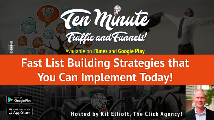 "s1e3:  ""Fast List Building Strategies that You Can Implement Today!"" (like right now, right now)"