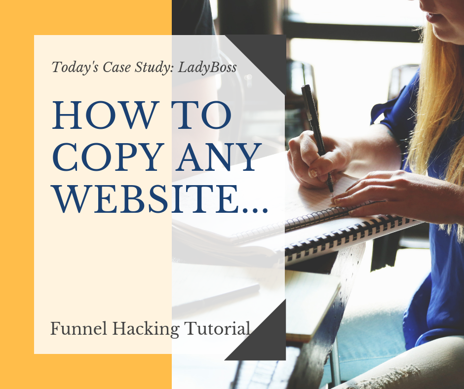 Step by Step How to Copy A Website